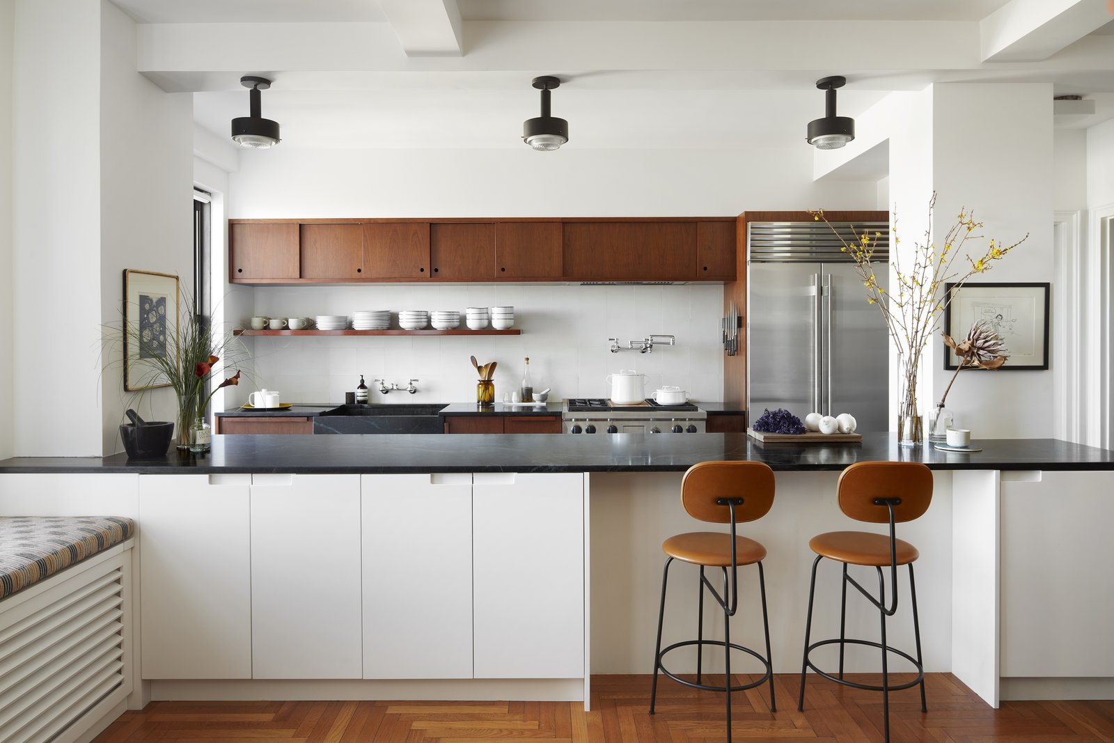 Kitchen in Eastern Parkway by Frederick Tang Architecture