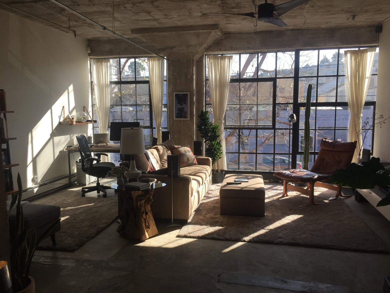 Before: Living area in 18th Street Loft by Siol Studios