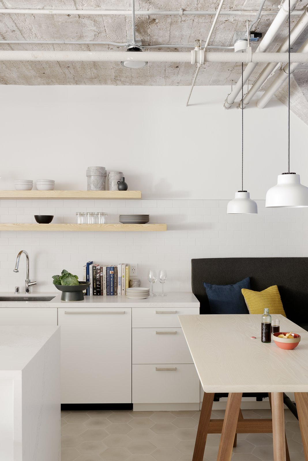 After: Kitchen in 18th Street Loft by Siol Studios