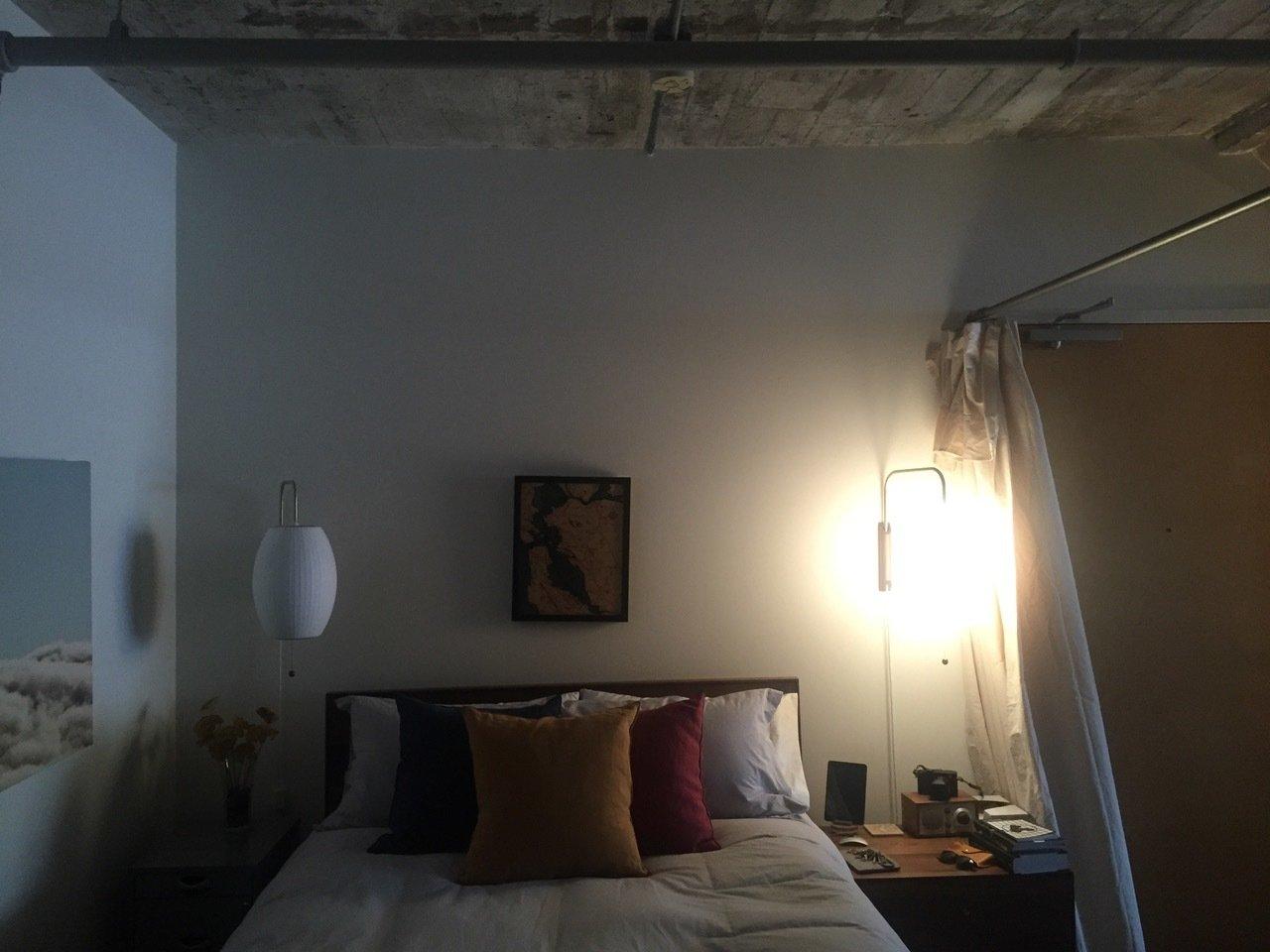 Before: Bedroom in 18th Street Loft by Siol Studios