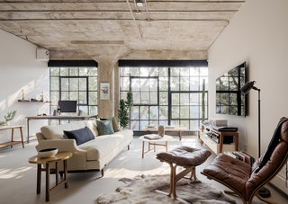 Before & After: A Loft in a Former See's Candy Factory Gets a Tasteful Renovation