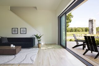 Best 60 Modern Living Room Light Hardwood Floors Design Photos And Dwell