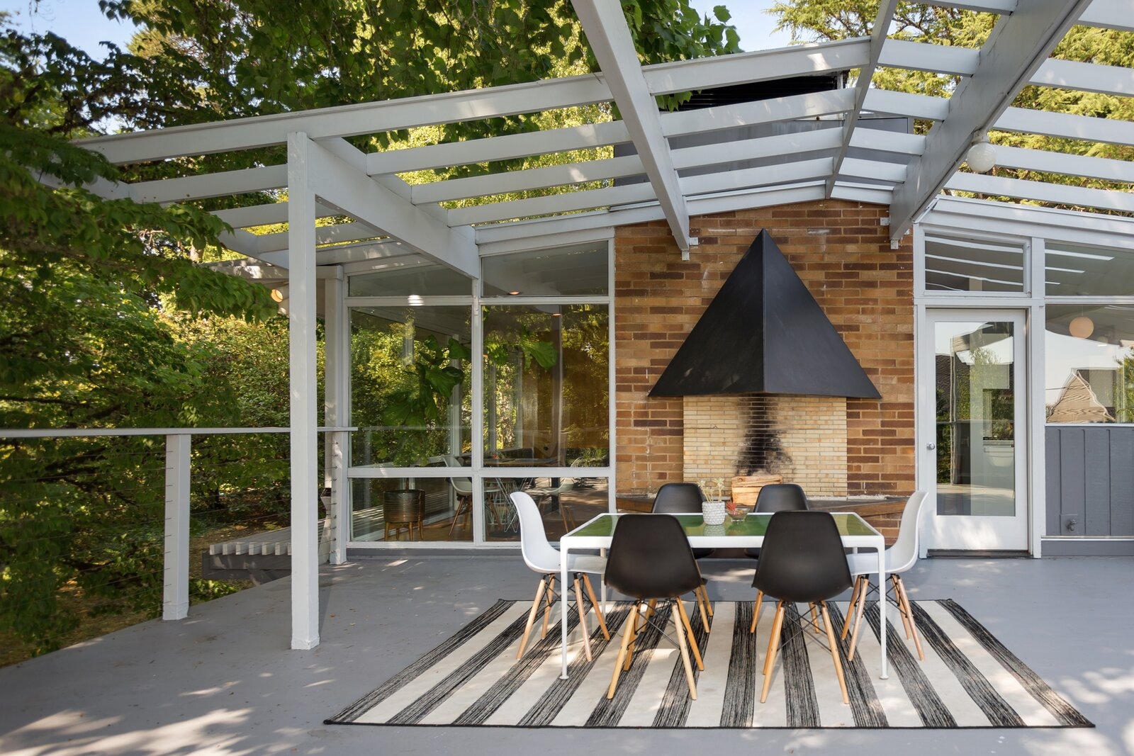 Rooftop Patio of Smith-Gerst Residence by Frank Shell