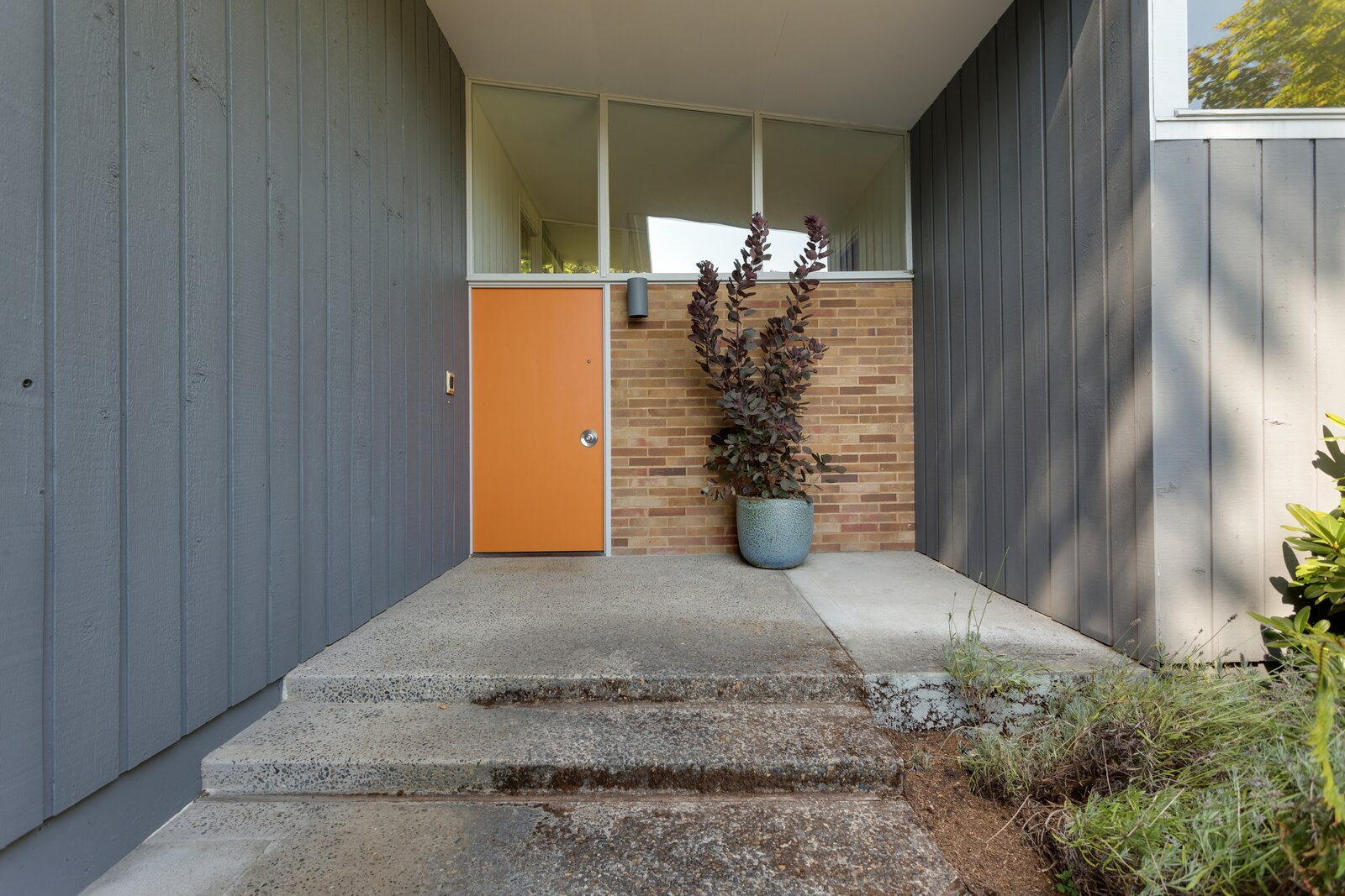 Front door of Smith-Gerst Residence by Frank Shell