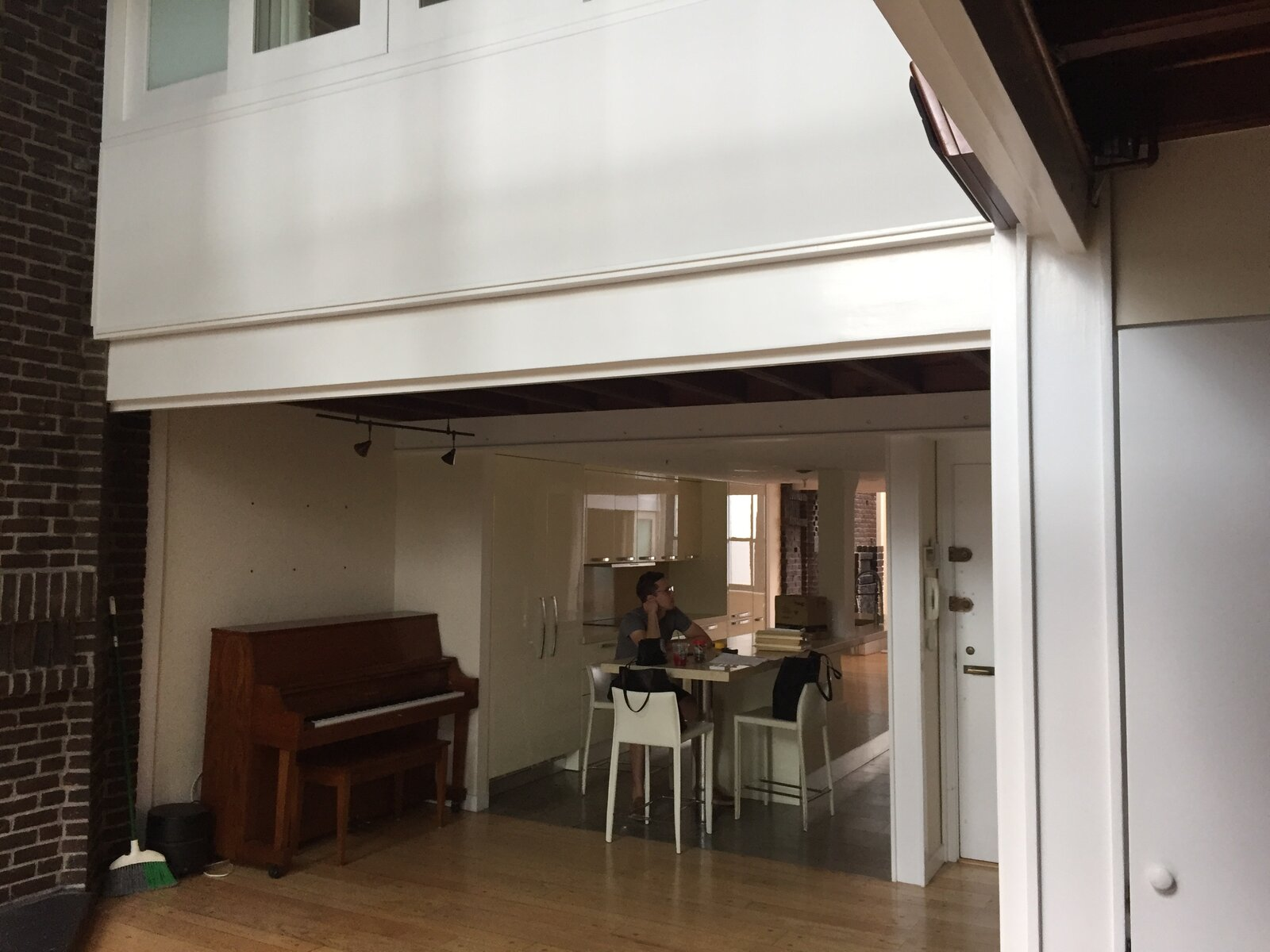 Work From Home Oasis_Chelsea Writer's Loft by e.g. Projects_Before