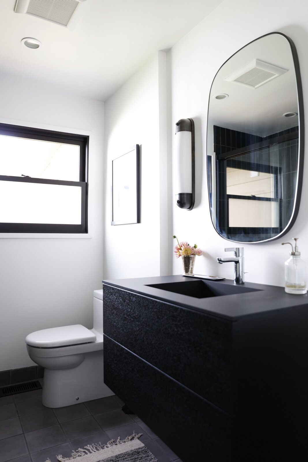 Bathroom in View Ridge Remodel by Le Whit