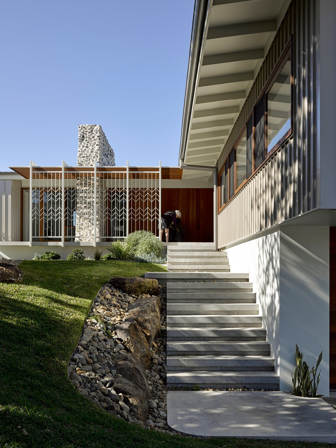 Neil and Shirley's by DFJ Architects