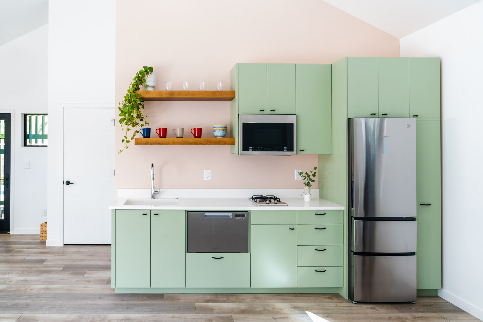 Kitchen of Twin Peaks by Workaday Design