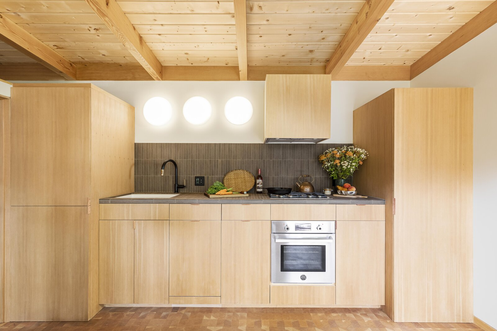 Kitchen of Haseman House by Willa Work