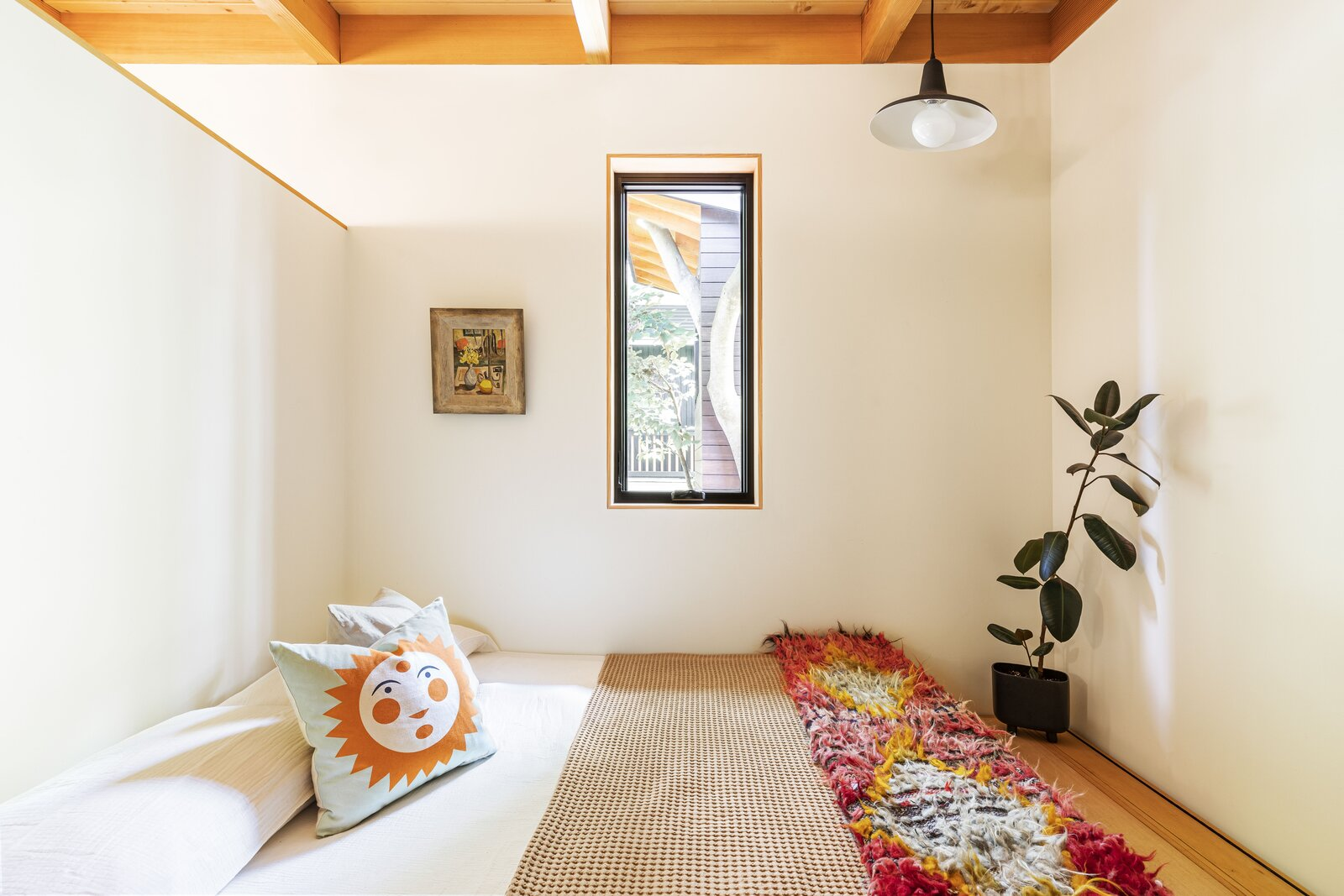 Bedroom of Haseman House by Willa Work