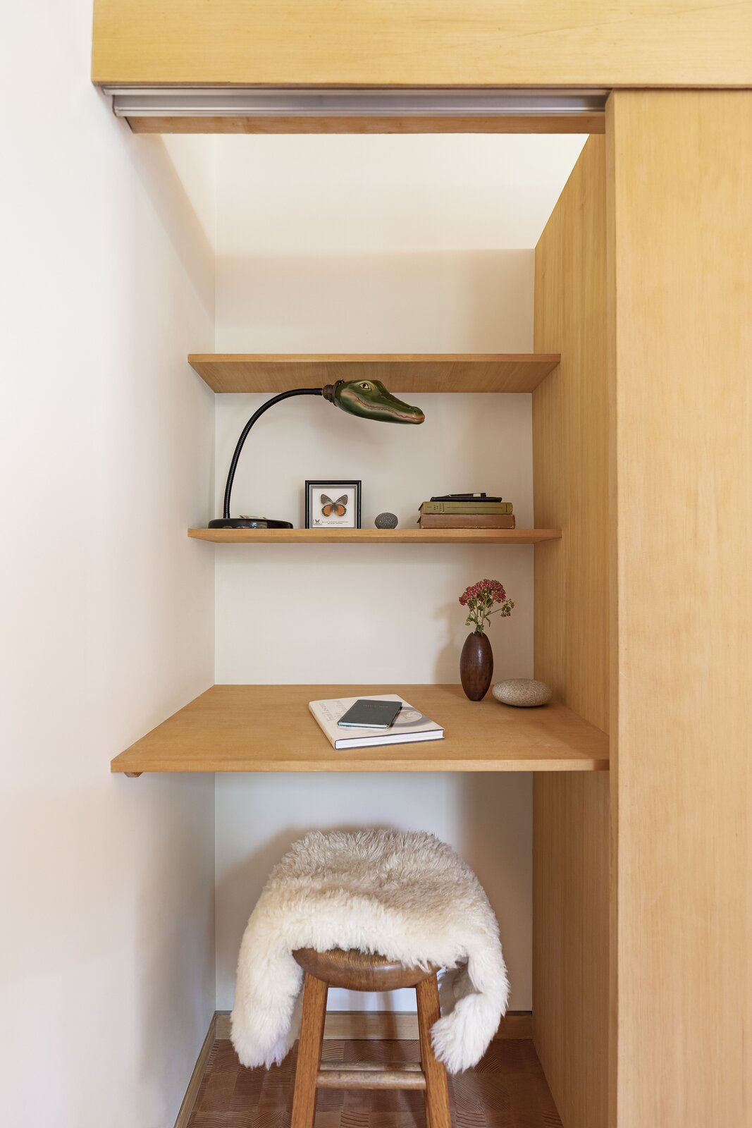 Office Nook in Haseman House by Willa Work