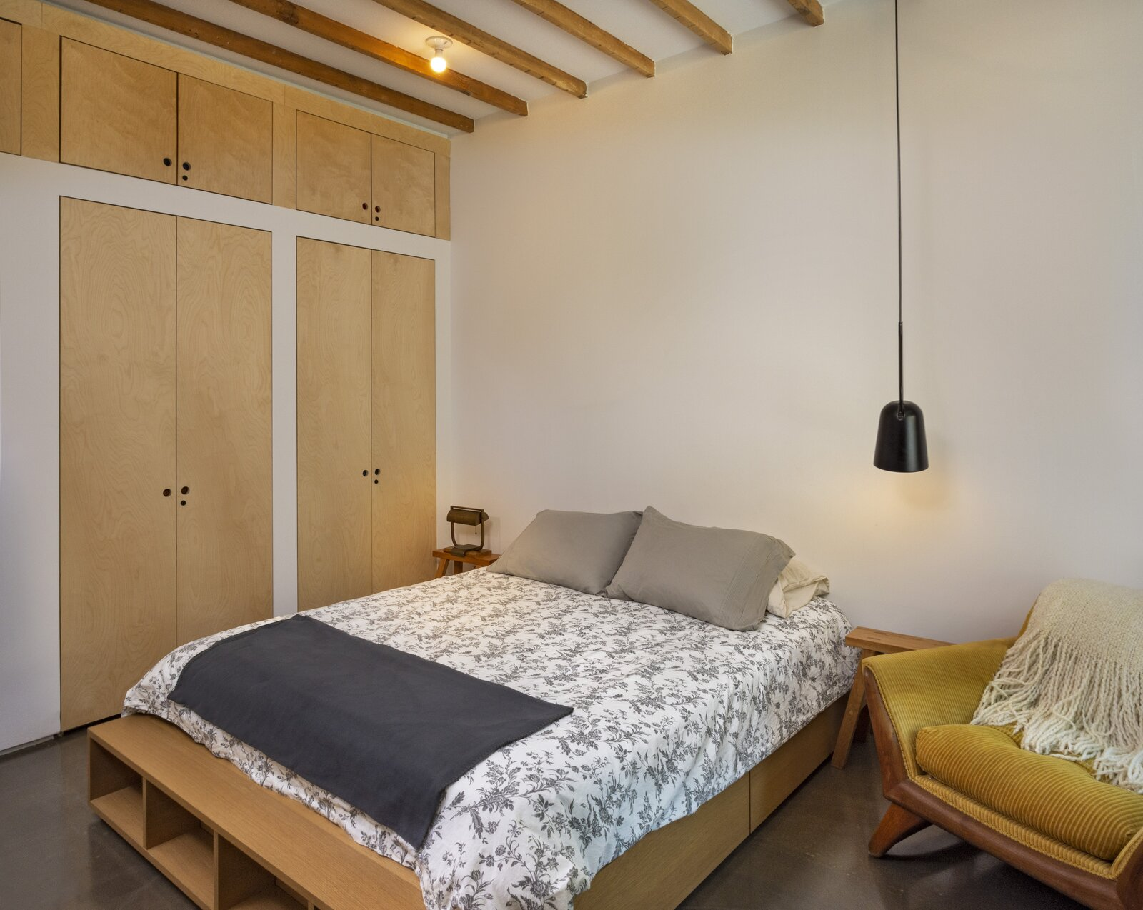 Third Street renovated bedroom interior