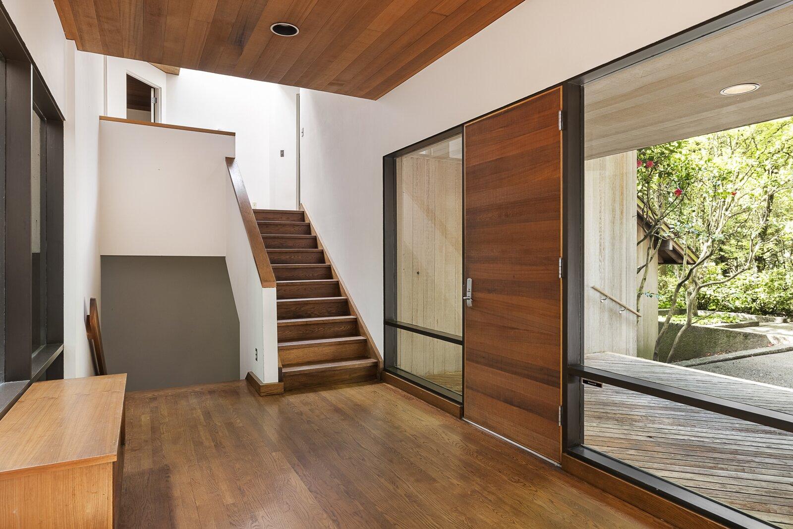 Entryway of the Mason Residence by Saul Zaik