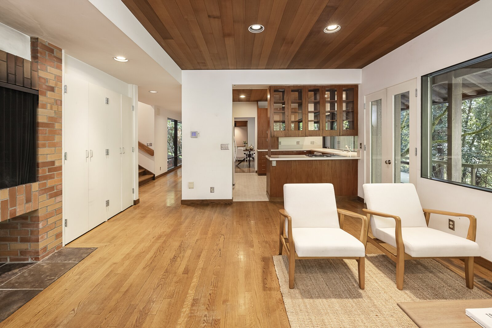 Kitchen of the Mason Residence by Saul Zaik