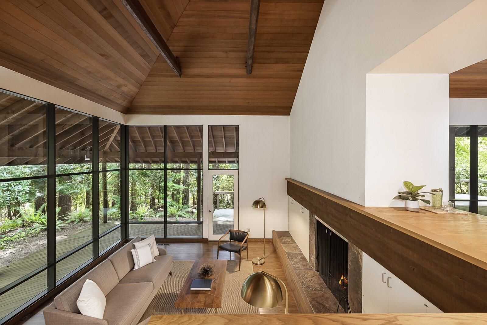 Living room of the Mason Residence by Saul Zaik