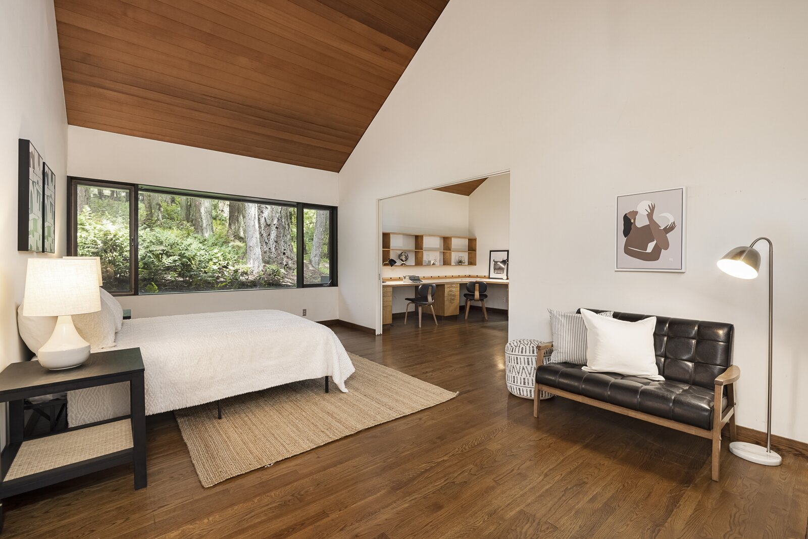 Bedroom in the Mason Residence by Saul Zaik