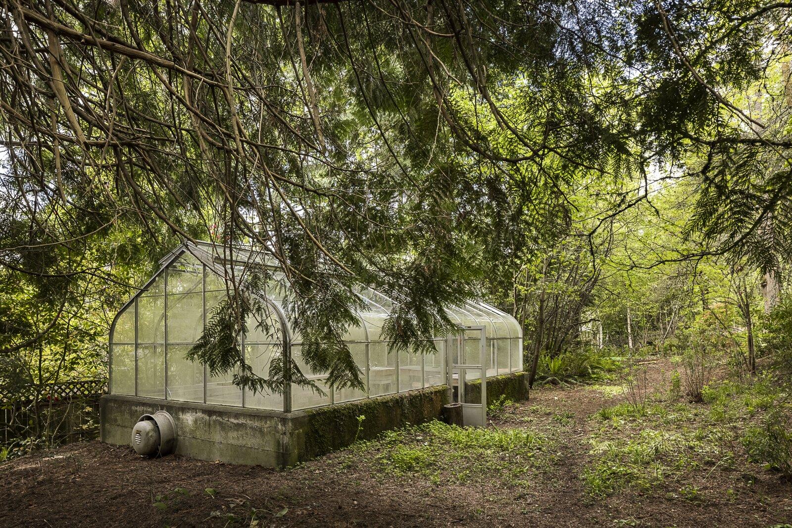 Greenhouse near the Mason Residence by Saul Zaik
