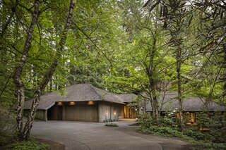 A Dreamy Forest Home by a Renowned Pacific Northwest Architect Asks $1.3M