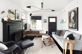 Before & After: A Design Duo Give Themselves Free Rein to Experiment With Their Portland Bungalow