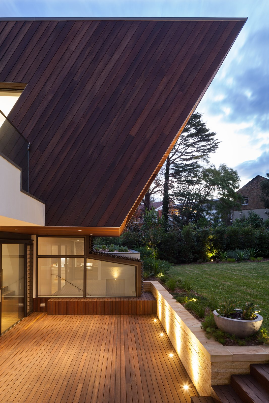 Outdoor, Landscape Lighting, and Decking Patio, Porch, Deck New Extension Exterior Rear 2  Best Photos from Castlecrag House