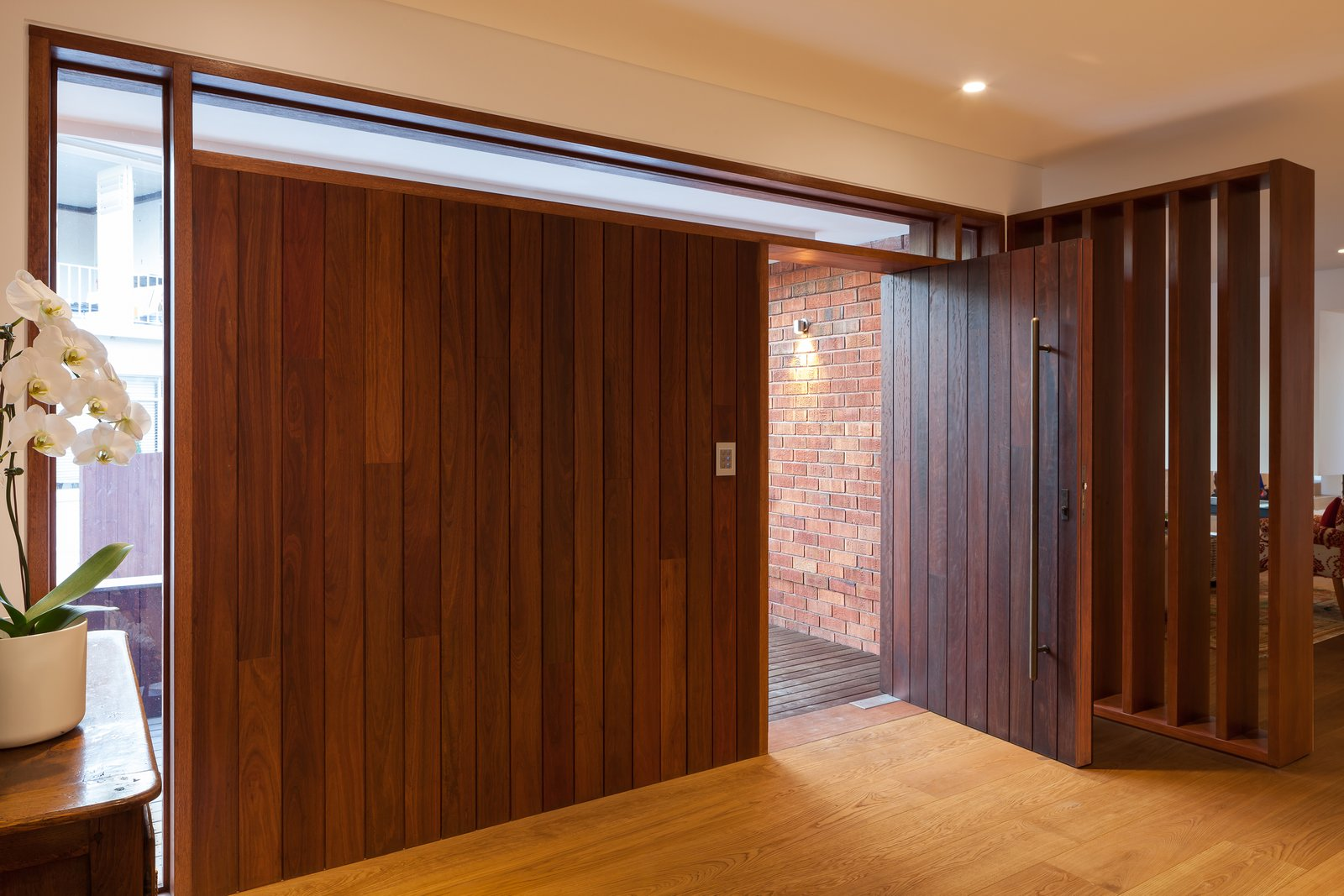 New front Entry in existing dwelling (Interior)  Castlecrag House by Gerard Page