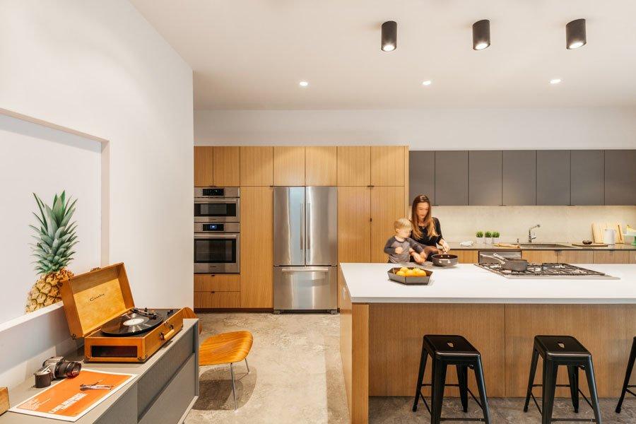 Kitchen Kitchen  Pavilion Haus by studioMET architects