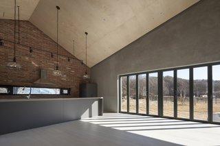 Open Kitchen & Folding Doors