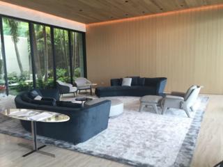 Seymour Sofa, Katlin Console, Aston Lounge Chair