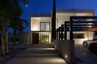 Casa forment at night