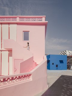 These Pink and Blue Homes Use Gender as a Metaphor For Urban Revitalization
