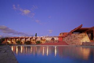 Tour Frank Lloyd Wright's Spectacular Desert Retreat and School in Arizona
