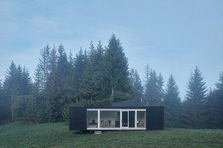 This Off-Grid Prefab Cabin Boasts a Hidden Hot Tub - Dwell