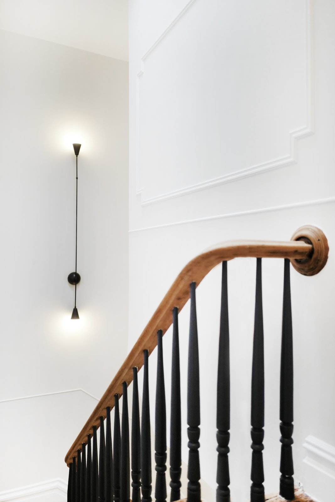 After: Brooklyn brownstone staircase