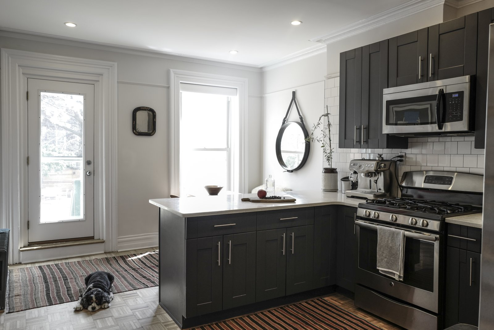 After: Brooklyn brownstone kitchen