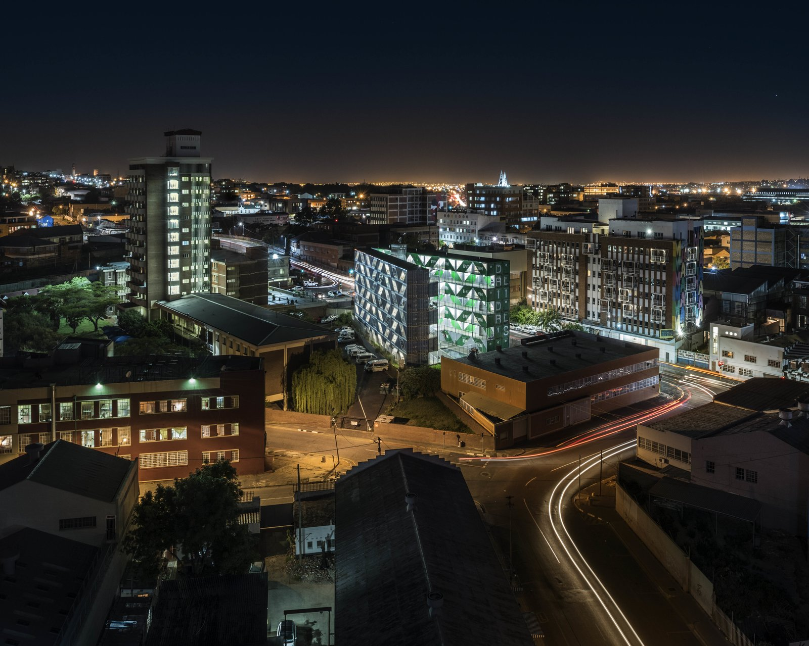 DRIVELINES Studios aerial view