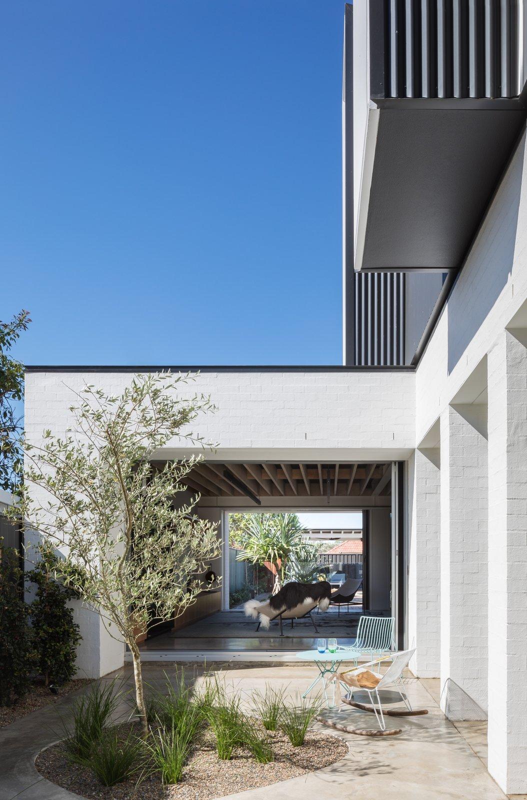 Matraville House internal courtyard