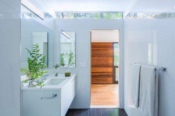 Best Modern Bathroom Dark Hardwood Floors Light Hardwood Floors Dwell