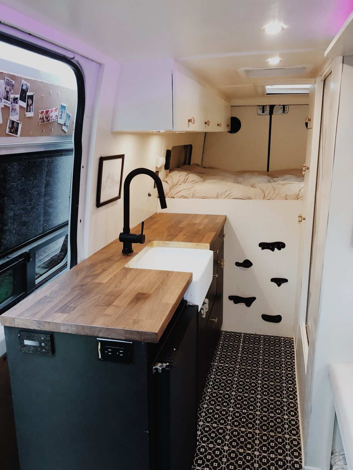 Photo 11 Of 11 In A Creative Duo Turns A Sprinter Van Into A Dream