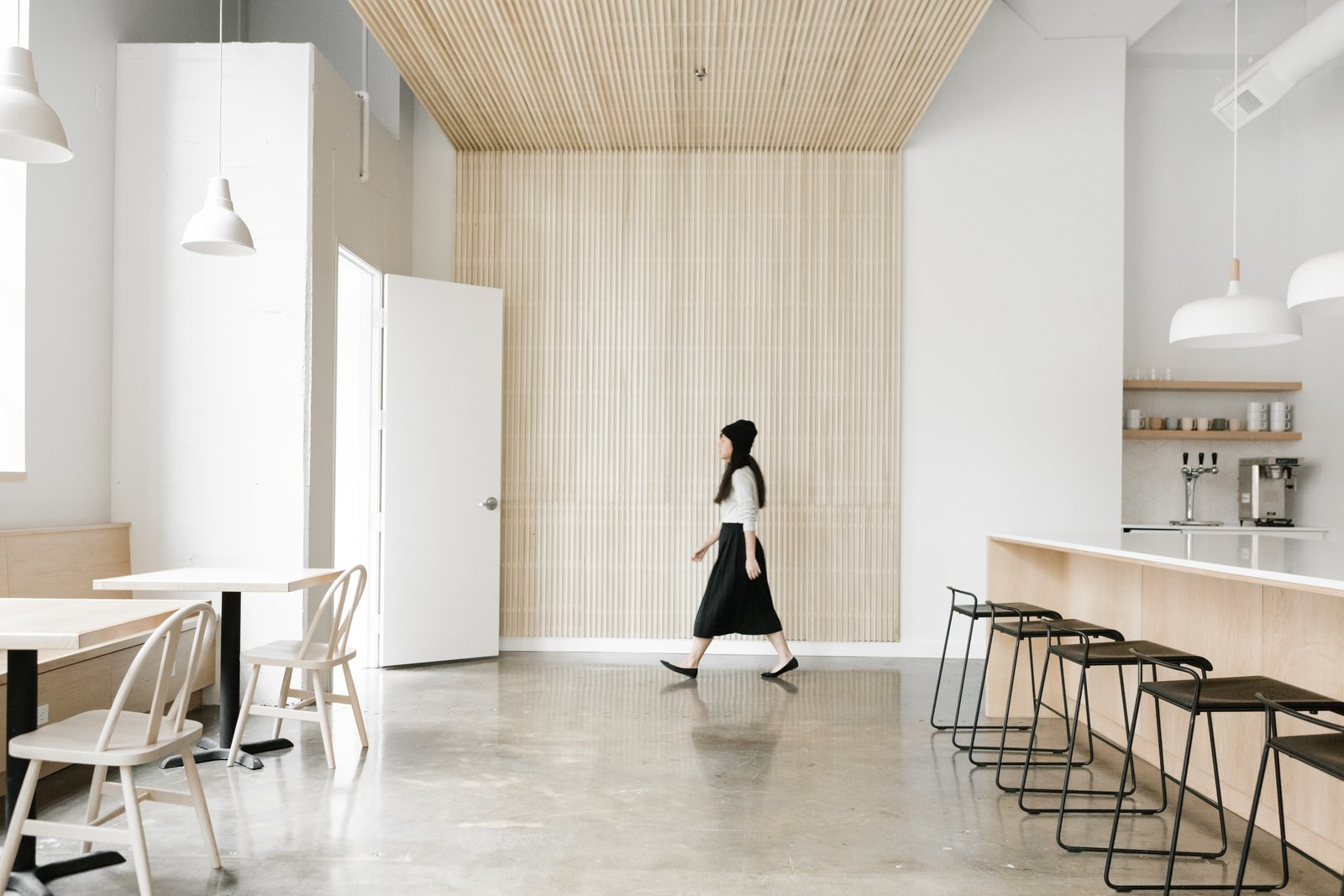 Casework Transforms an Industrial Building Into a Sleek, Contemporary Workspace