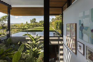 Picturesque views of the surrounding countryside are present at every corner of this home.