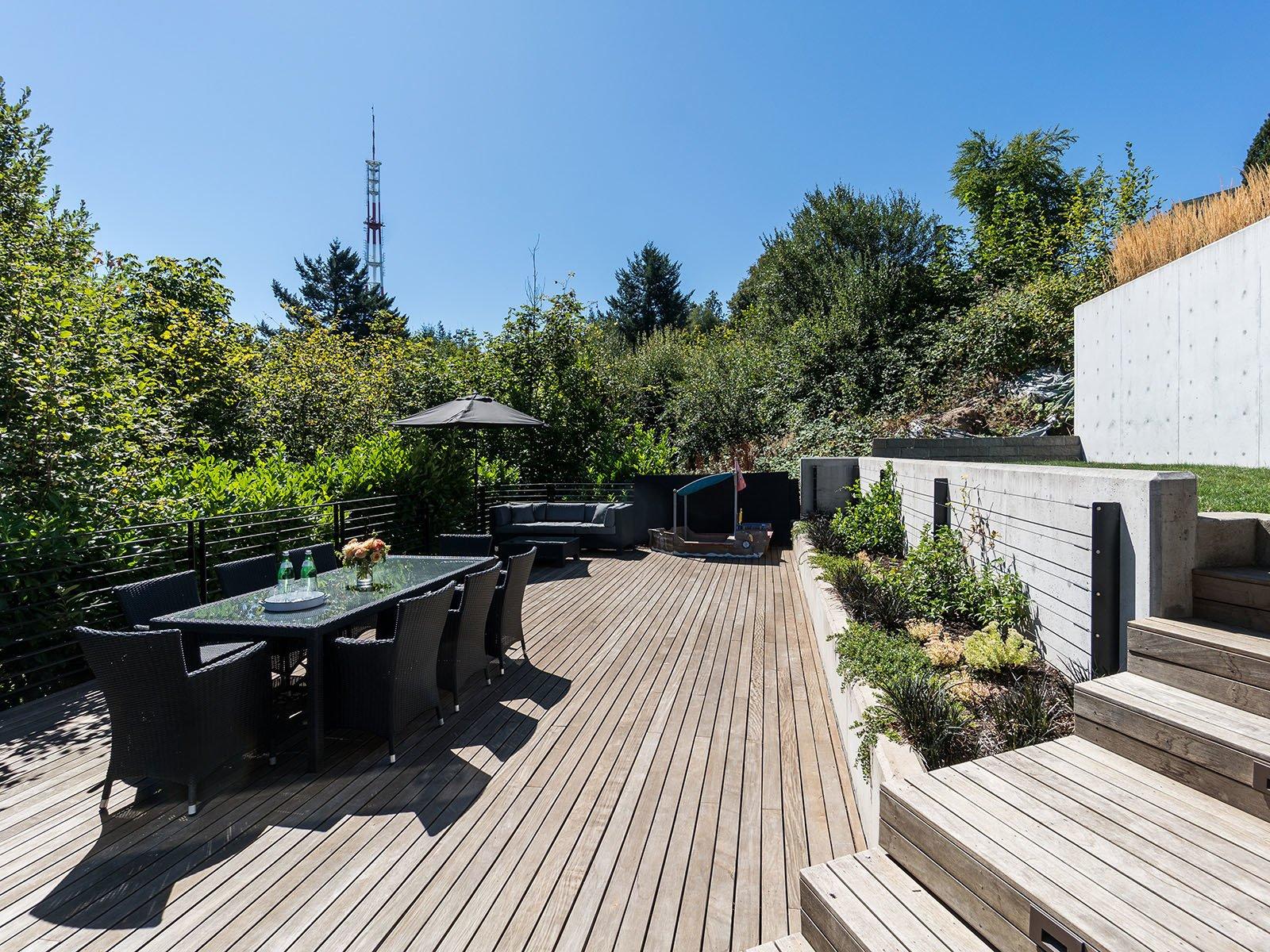 Sinclair House ipe deck