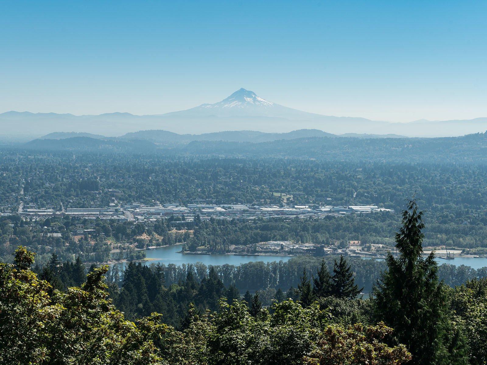 Cascade Mountains landscape