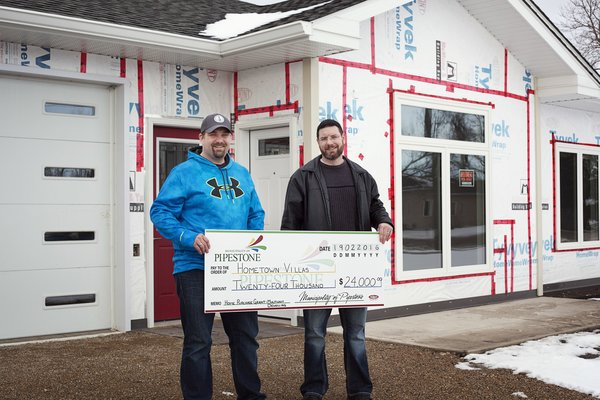 The rural municipality of Pipestone in Southwestern Manitoba, Canada, will pay you a grant of up to $32,000 to transform your ideas into a business.