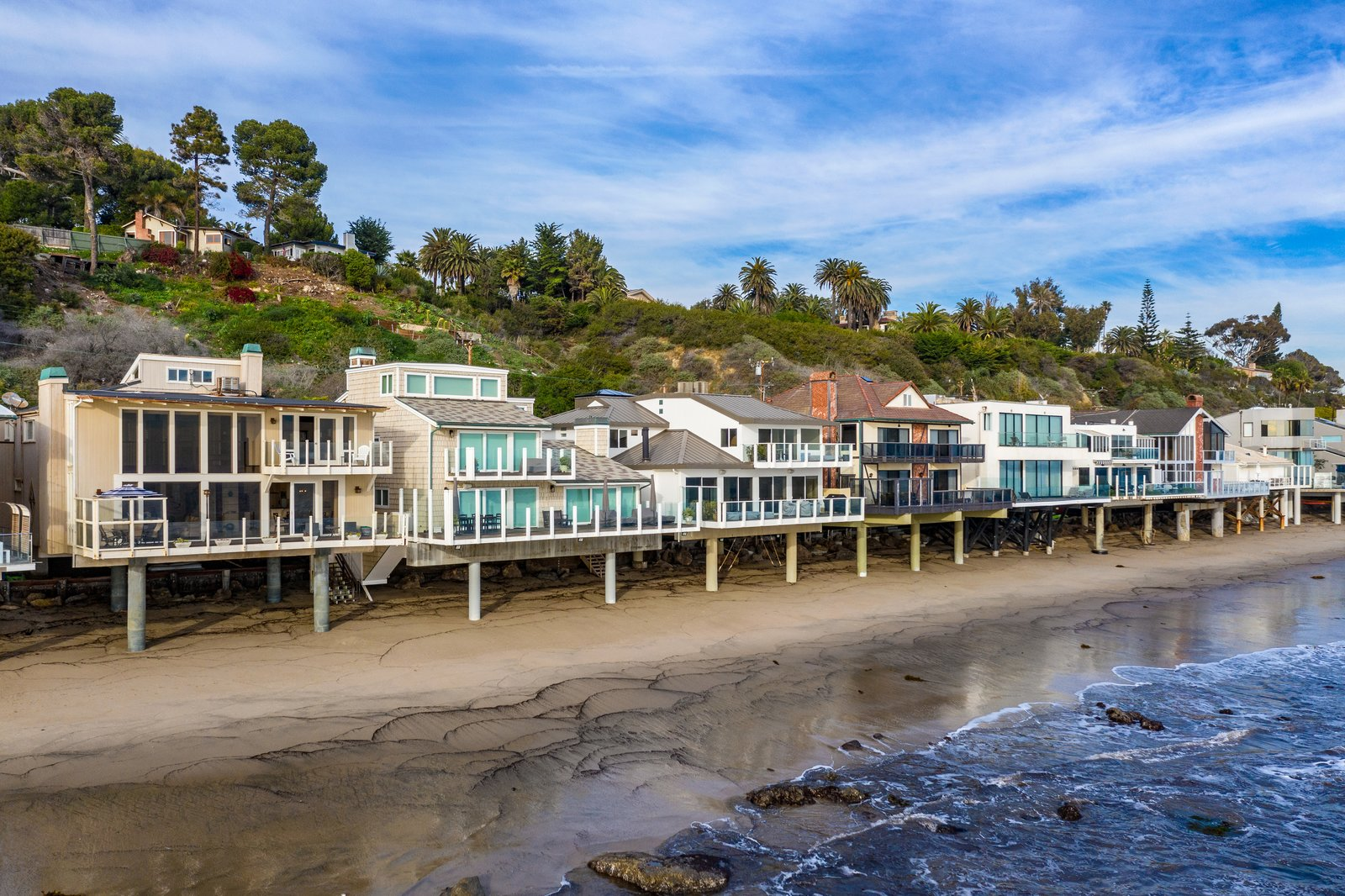 Malibu beachfront home