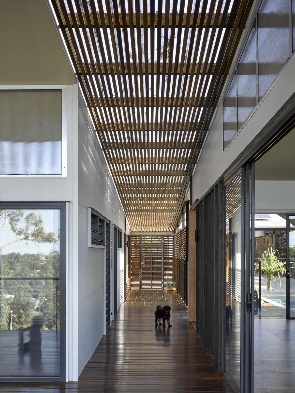 Two Tree House interior hallway