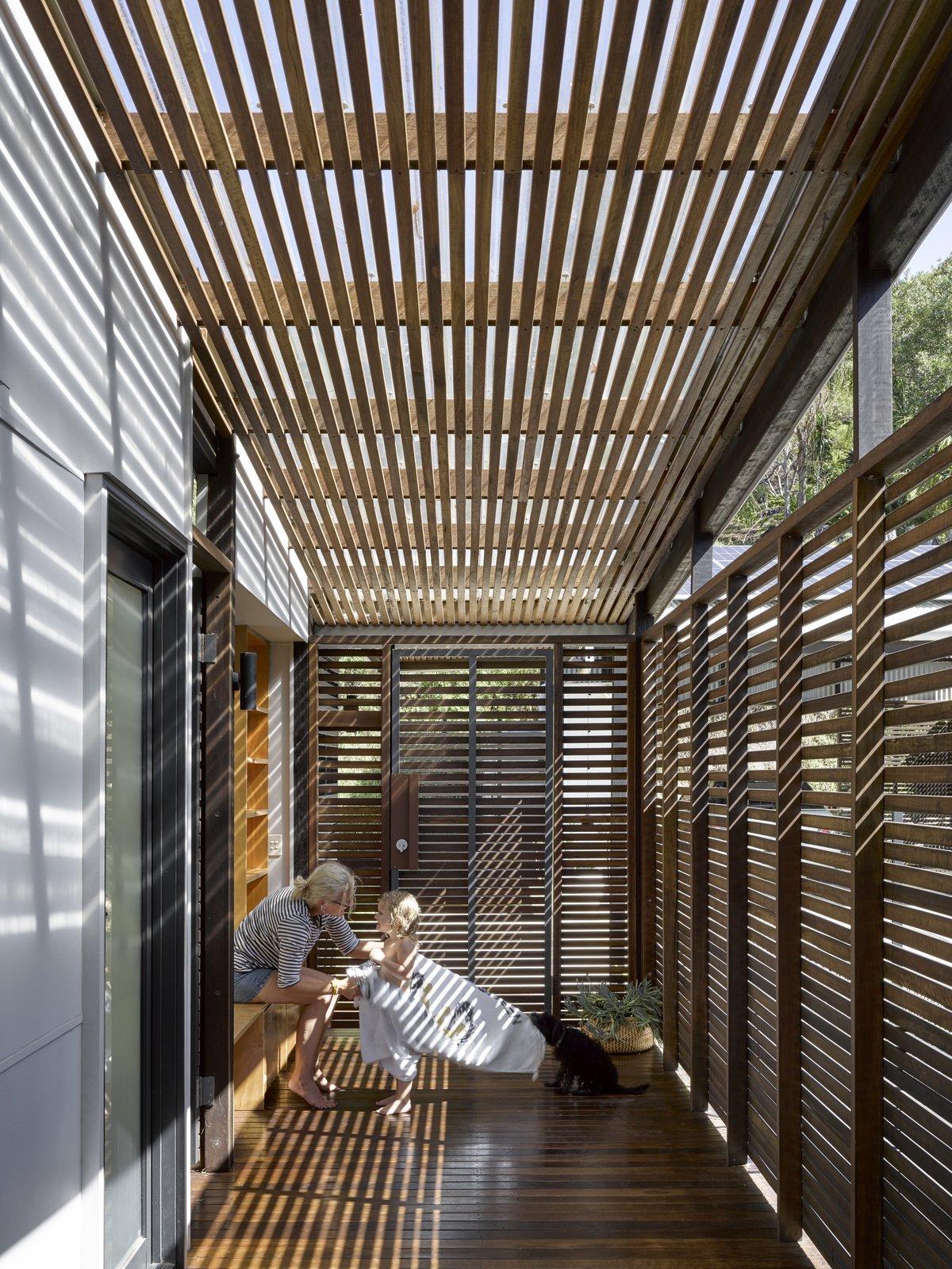 Two Tree House veranda