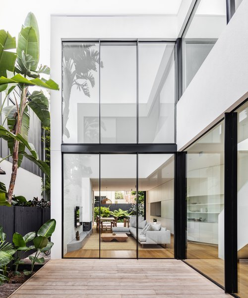 The internal courtyard is the heart of the home.
