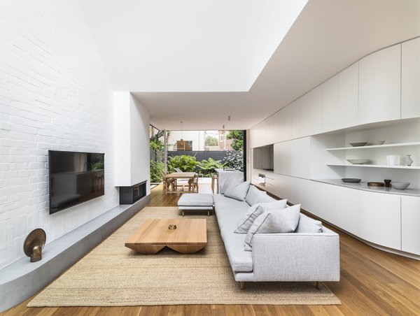 492 Living Room Shelves Design Photos And Ideas Filter Subtle Curves Introduced Throughout The Such As In Built Casework