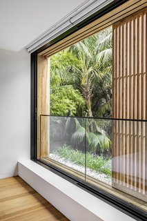 Mobile timber privacy screens allow for openness and transparency, or privacy and quiet.