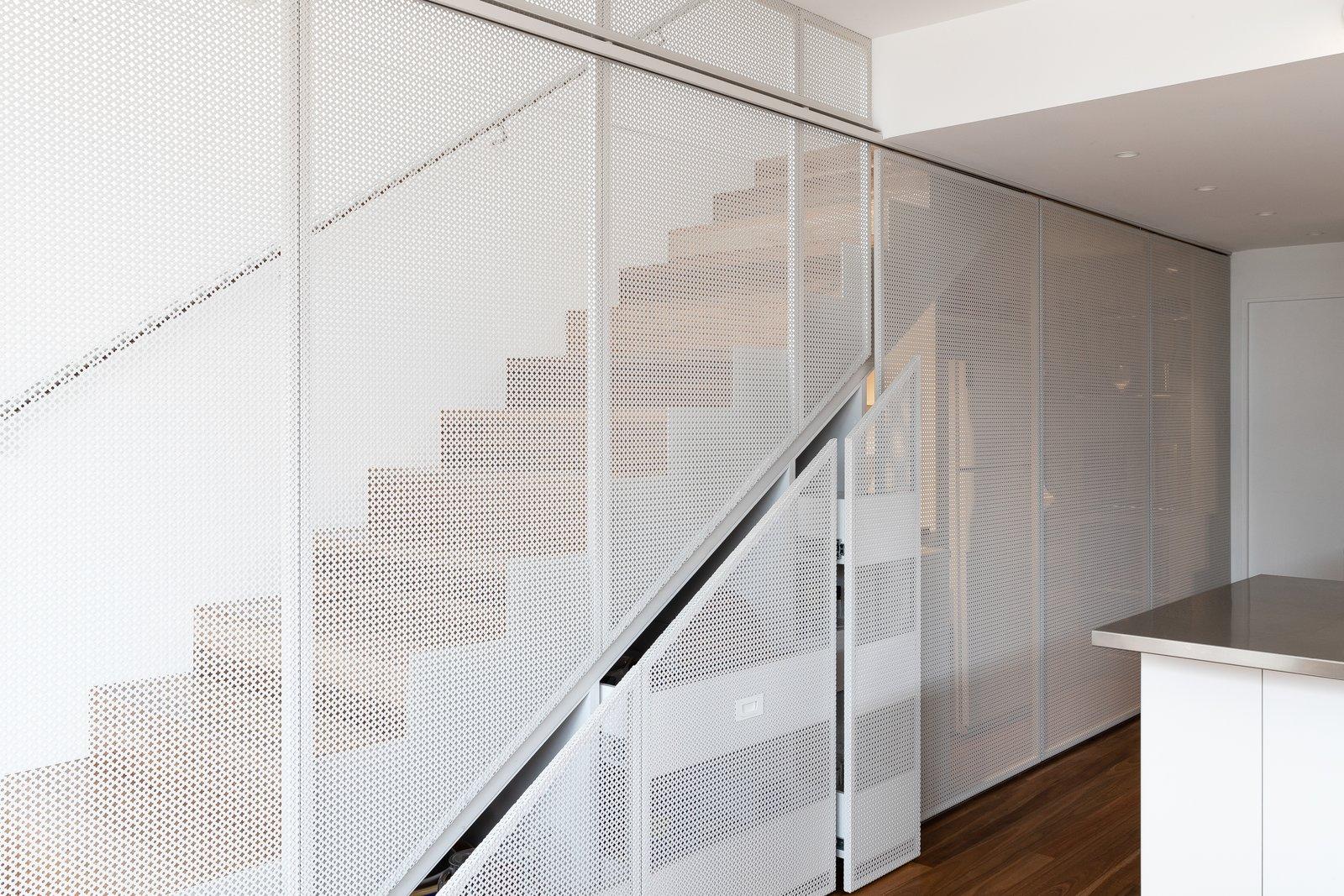 Albert Park staircase storage